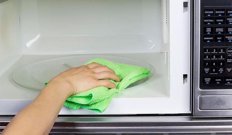 Como limpiar microondas